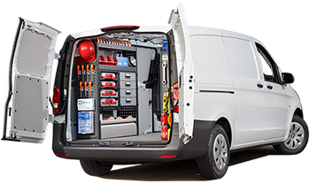 customised van racking kits