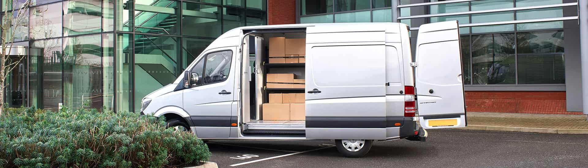 van shelving system for delivery vans modul express