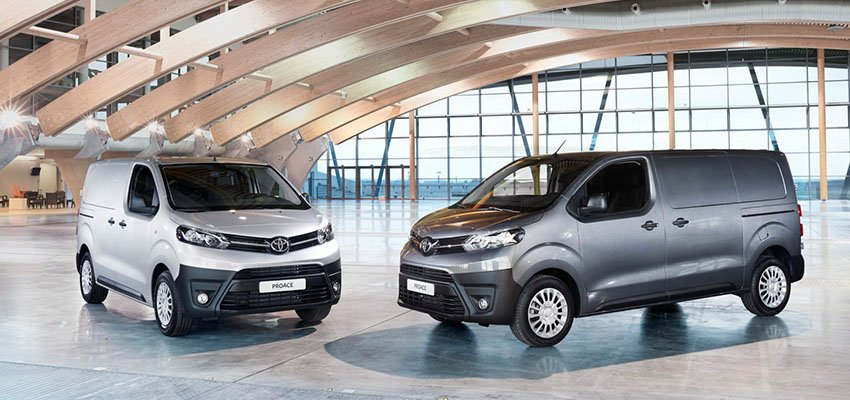 Browse our racking proposals for the new Toyota ProAce City