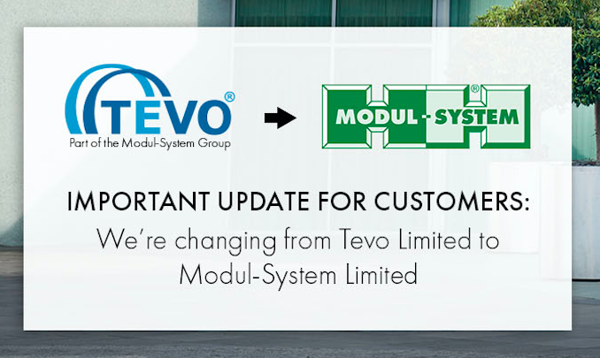 Intended Name Change - From Tevo Limited to Modul-System Limited